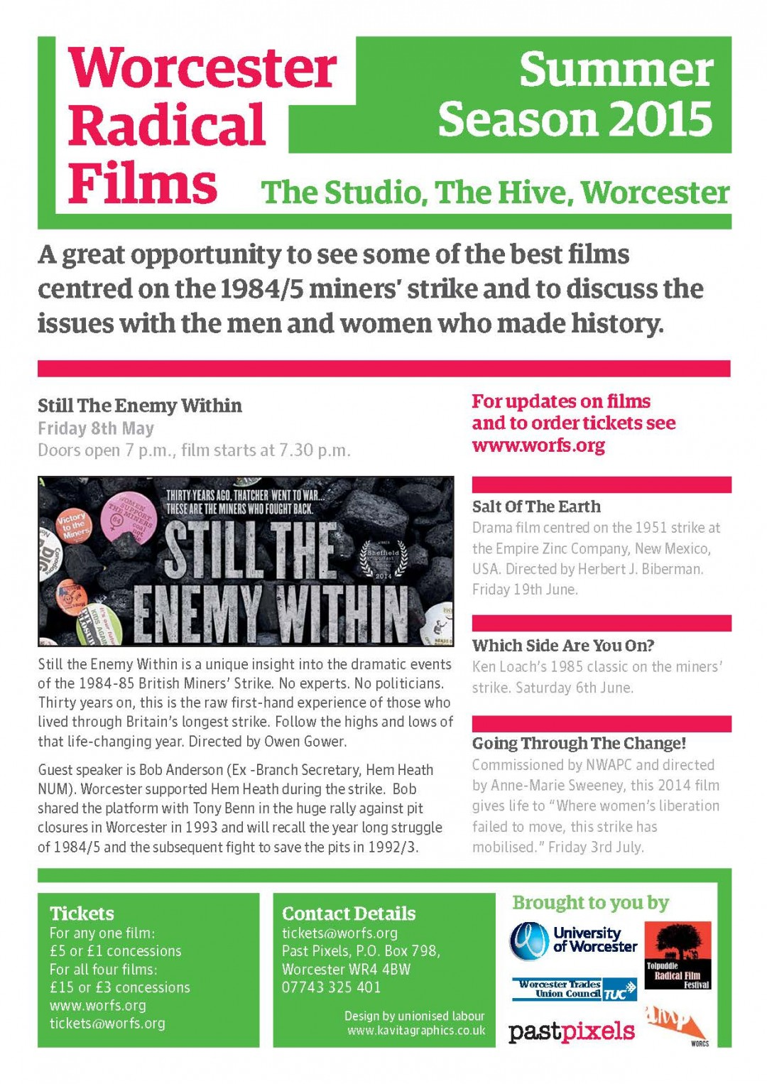 Worcester Radical Films